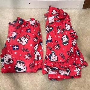 Other - Hello kitty pajama set, long sleeve shirt & pants
